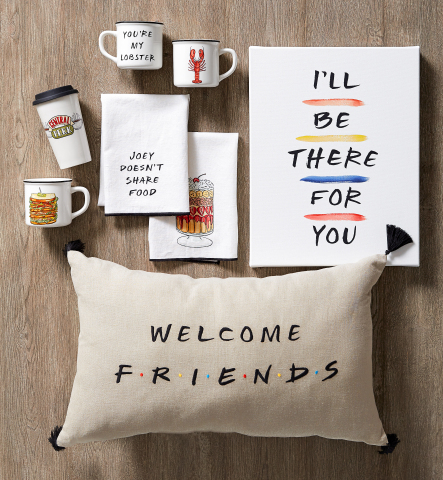 FRIENDS x Pottery Barn collection (Photo: Business Wire)