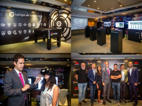 LaLiga Hong Kong Innovation Showcase Event (Photo: Business Wire)