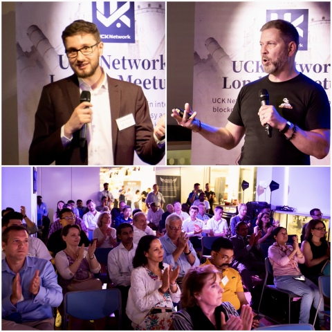 Andrew Adcock, CEO of Crowd for Angels, and Troy Norcross Speaking