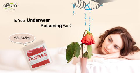 aPure Pure5.5 pH Balancing Underwears have a Grade 4 colorfastness which essentially makes them fit for Kings.