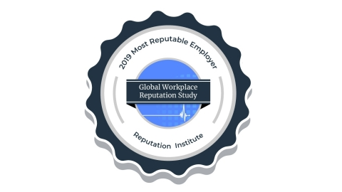 Mary Kay Inc. Named Among Most Reputable Global Employers in Reputation Institute's 2019 Workplace Study (Graphic: Mary Kay Inc.)
