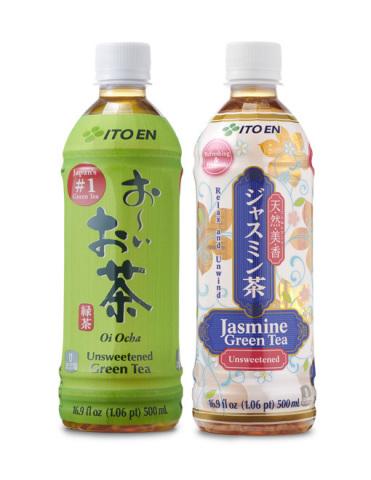 ITO EN Oi Ocha and Jasmine Green Tea. (Photo: Business Wire)
