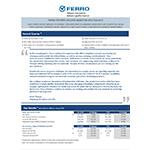 Ferro Reports Second-Quarter 2019 Results