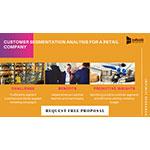 Customer segmentation analysis for a retail company