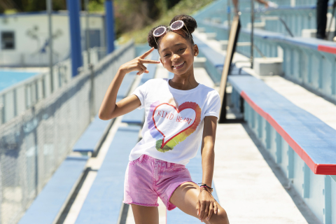 Old Navy Launches ONward! Tee Collection Designed by Boys & Girls Club Kids (Photo: Business Wire)