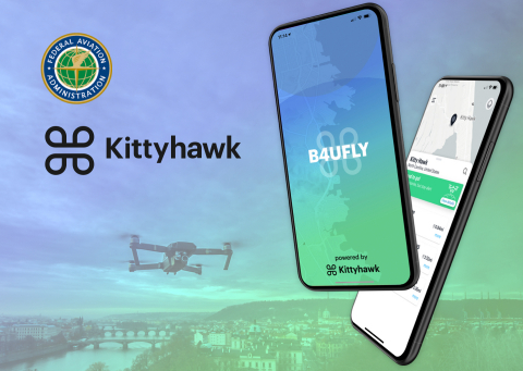 Kittyhawk and FAA Launch New B4UFLY App (Graphic: Business Wire)