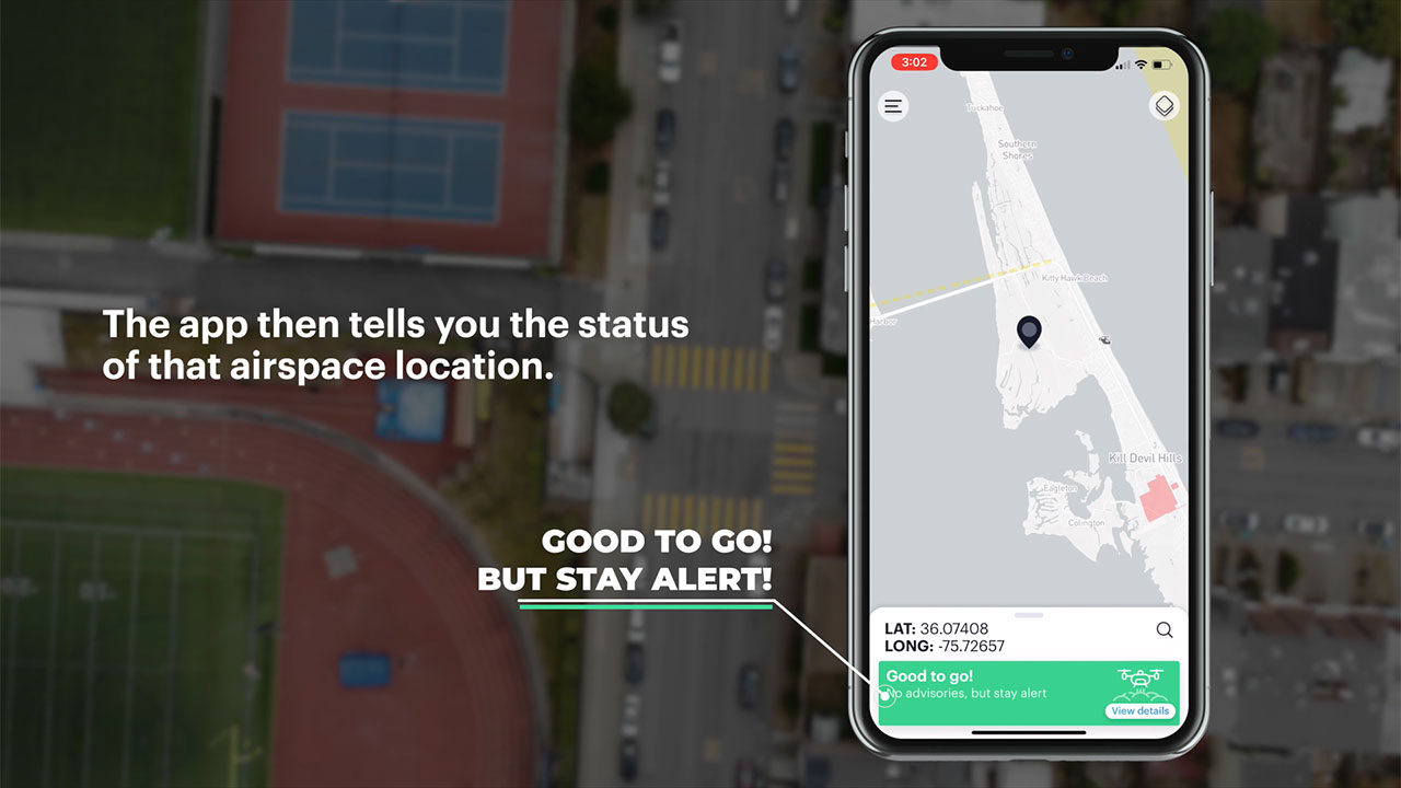 How to Use the New B4UFLY App - The easy way for drone pilots to check airspace in the U.S.