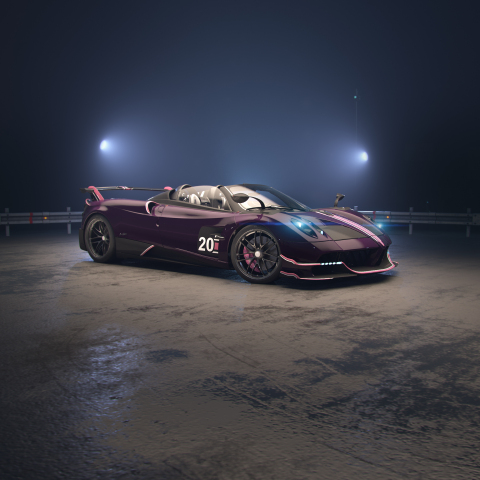 Pagani Automobili Unveils Huayra Roadster BC in Zynga's CSR Racing 2 (Photo: Business Wire)