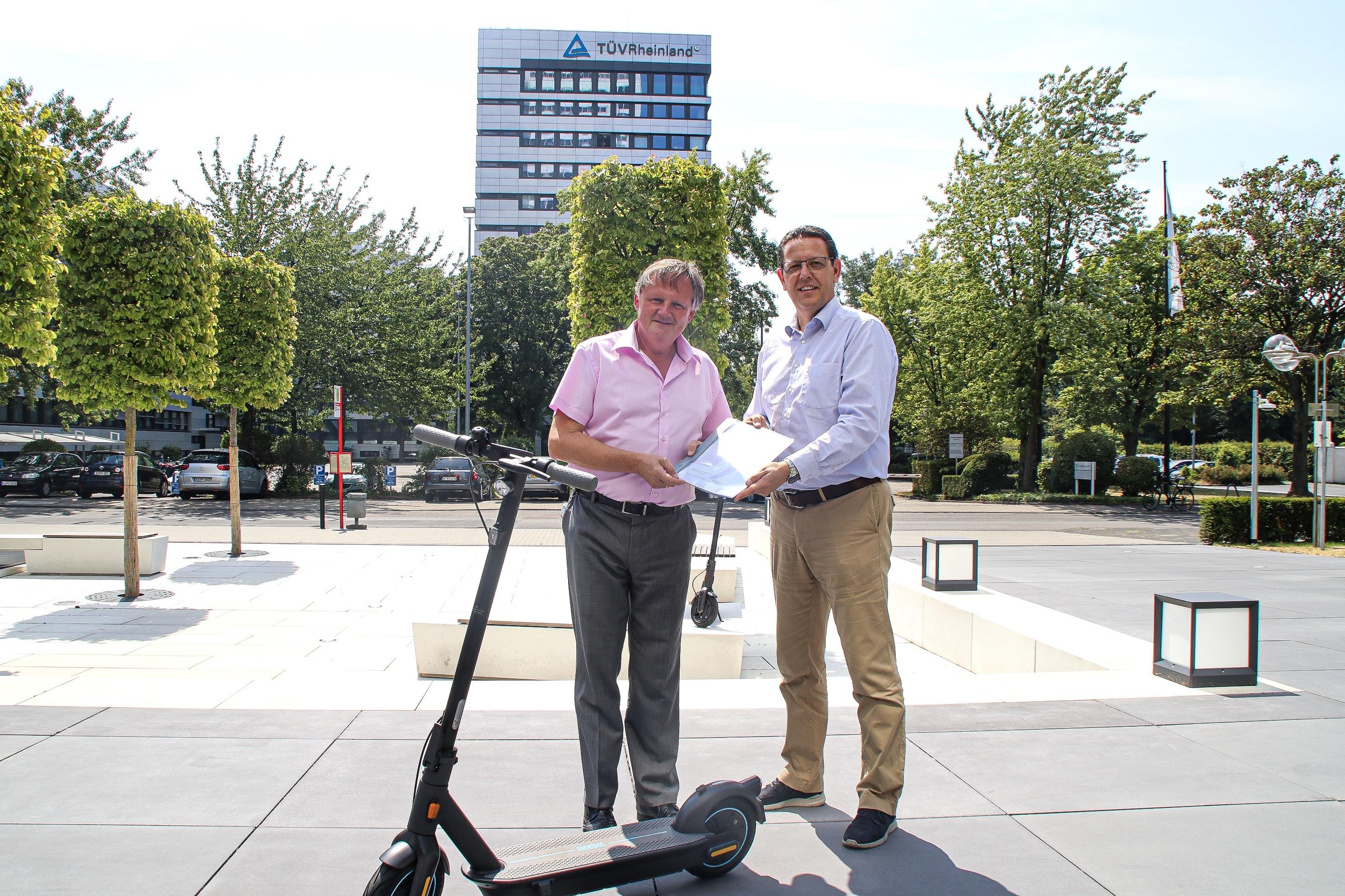 Segway-Ninebot Electric Scooters Granted German eKFV