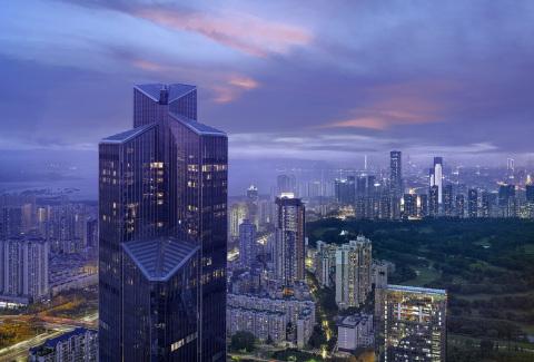 Exterior view of Park Hyatt Shenzhen (Photo: Business Wire)