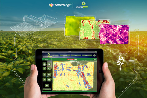 ScoutPro Partners with Farmers Edge to Boost Crop Monitoring Capabilities with Daily Satellite Imagery (Photo: Business Wire)