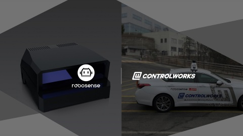 RoboSense and ControlWorks Partners to provide Smart LiDAR Sensor System to the Korean Automobile Industry (Photo: Business Wire)