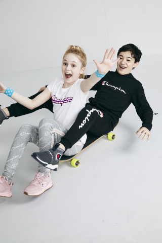 Get ready to shine this school year at Macy's. Champion For Kids Styles, $14.00-$28.00 (Photo: Business Wire)