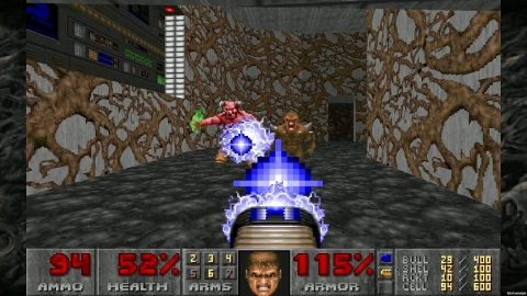 Experience the classic demon-blasting fun that popularized the genre at home or on the go. Celebrate DOOM's 25th anniversary with the re-release of the original DOOM (1993) game. DOOM introduced millions of gamers to the fast-paced, white-knuckle, demon-slaying action the franchise is known for. (Graphic: Business Wire)