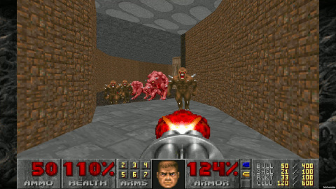 Battle the demon hordes anytime, anywhere on the Nintendo Switch system. Celebrate DOOM's 25th anniversary with the re-release of the DOOM II game. This beloved sequel to the groundbreaking DOOM (1993) game gave players the brutal Super Shotgun to bear against deadlier demons and the infamous boss, the Icon of Sin. (Graphic: Business Wire)