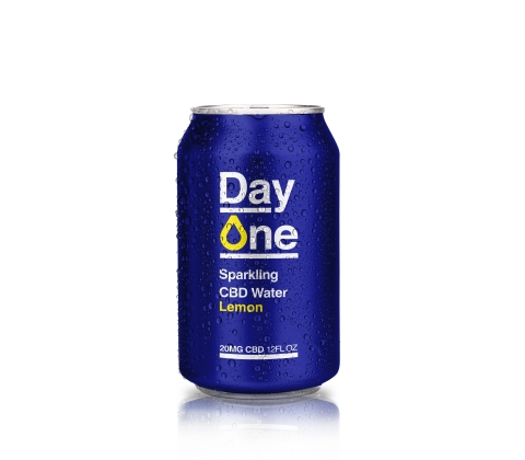 Day One Sparkling CBD Lemon (Photo: Business Wire)