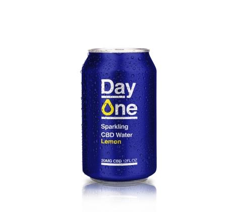 Day One Sparkling CBD Lemon (Photo: Business Wire)