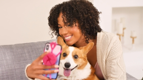 """Zulily's """"Sniff & Snap,"""" a debut phone accessory from the online retailer (Photo: Business Wire)"""
