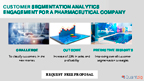 Customer segmentation analytics engagement for a pharmaceutical company.