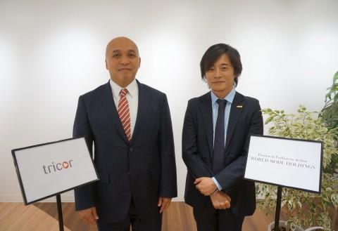 Scott Sato, Tricor Japan CEO and Shinsuke Kafuku, WMH CEO (Photo: Business Wire)
