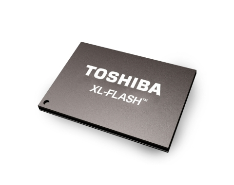 Based on Toshiba Memory's innovative BiCS FLASH™ 3D flash memory technology with 1-bit-per-cell SLC, XL-FLASH™ brings low latency and high performance to data center and enterprise storage. (Photo: Business Wire)