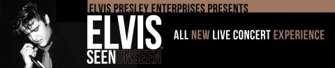 Elvis Unseen. An all new live concert experience. (Graphic: Business Wire)