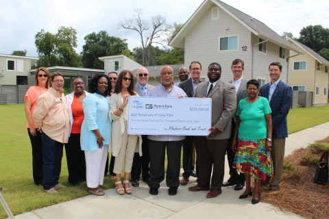 Congressman Bennie Thompson, D-MS, joined representatives from the Federal Home Loan Bank of Dallas (FHLB Dallas), Planters Bank and Trust Company and other community officials in a walking tour of the Reserves at Gray Park, an affordable housing community in Greenville, Mississippi. FHLB Dallas partnered with Planters Bank in 2018 to contribute $224K to the development, through its Affordable Housing Program. (Photo: Business Wire)