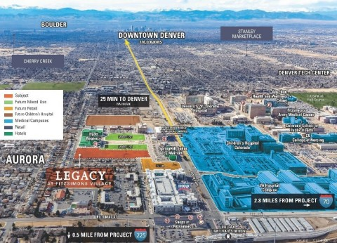 Griffin Capital Closes First Opportunity Zone Land Acquisition in Aurora (Denver), Colorado in Joint Venture With Legacy Partners (Photo: Business Wire)