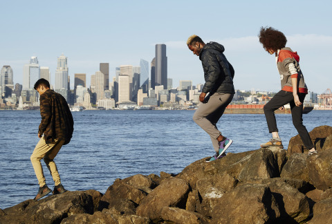 Columbia Sportswear is launching the SH/FT Collection – its new footwear line inspired by today's rapid urbanization and the growing movement to seek balance outdoors. (Photo: Business Wire)