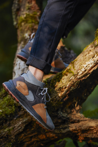 The women's SH/FT OutDry Mid provides peak performance and function for the trail, without sacrificing style. (Photo: Business Wire)