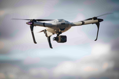 The AtlasPRO drone system is used by first responders worldwide for security and search-and-rescue missions. (Photo: Business Wire)