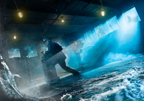 Brace for Impact as the Queen Mary's Dark Harbor releases a storm of fear like no other in the all-new maze: Rogue. (Photo: Business Wire)