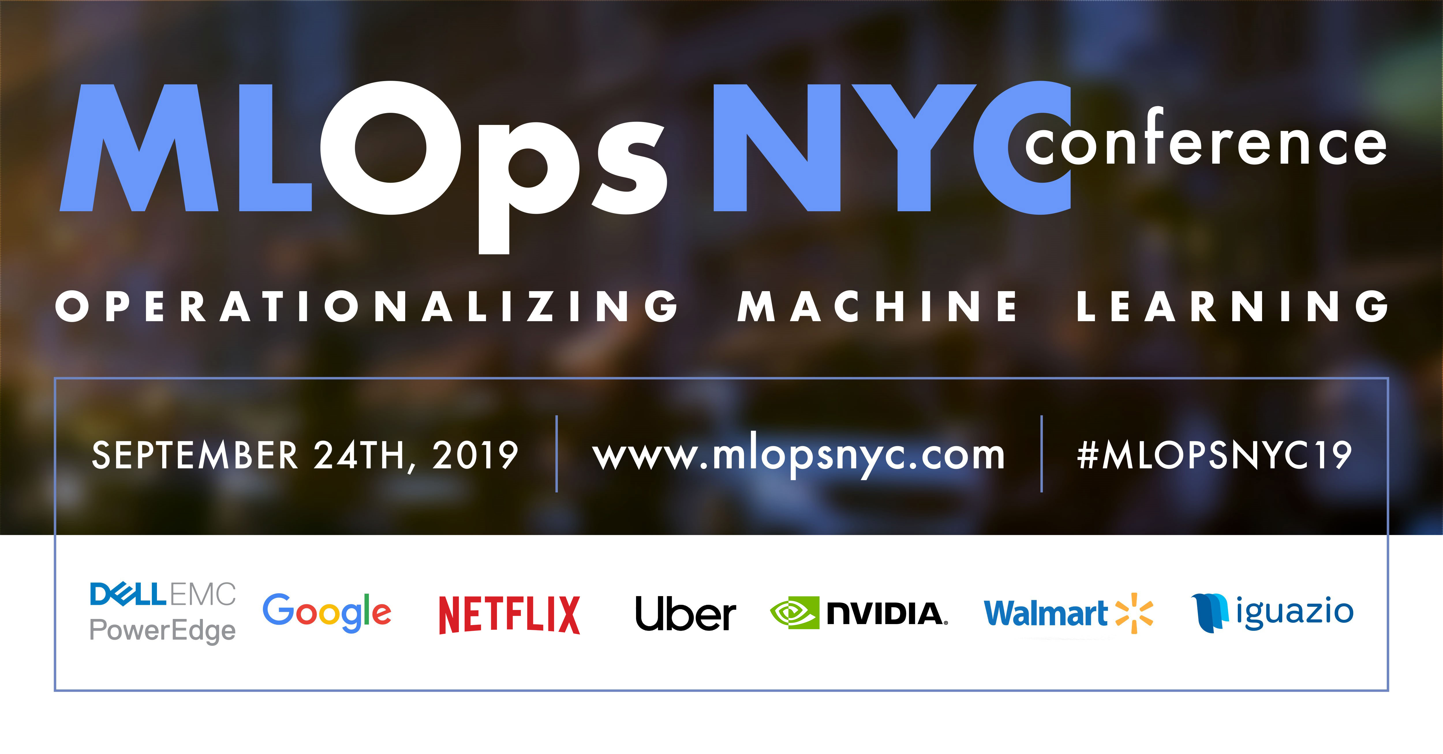 MLOps NYC19 Conference to Promote the Standardization of