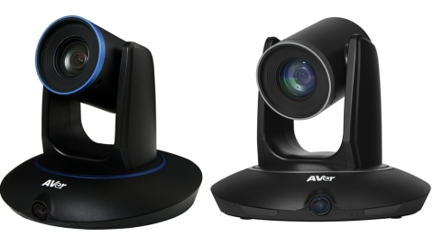 AVer TR530 and TR320 Auto Tracking Cameras (Photo: Business Wire)