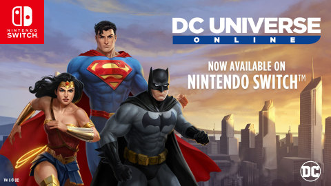 DC Universe Online for Nintendo Switch Key Art (Graphic: Business Wire)