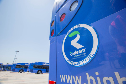 The demand is growing for Redeem™ renewable natural gas which reduces carbon emissions at least 70% when fueling buses, trucks, waste, and other vehicles. (Photo: Business Wire)