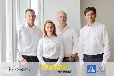 Andrew Bunce, Chief Product Officer; Peter Bainbridge-Clayton, Co-Founder & CTO; Johanna Konrad, Chief Operating Officer; Russell E. Perry, Founder & CEO (Photo: Business Wire)