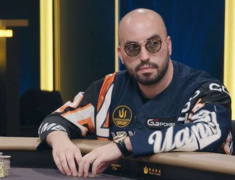GGPoker Ambassador Bryn Kenney at the Triton Million £1,050,000 poker tournament in London, England (Photo: Business Wire)