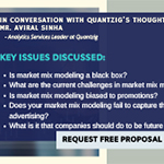 Q&A Session with Quantzig's Thought Leader on the Growing Importance of Market Mix Modeling