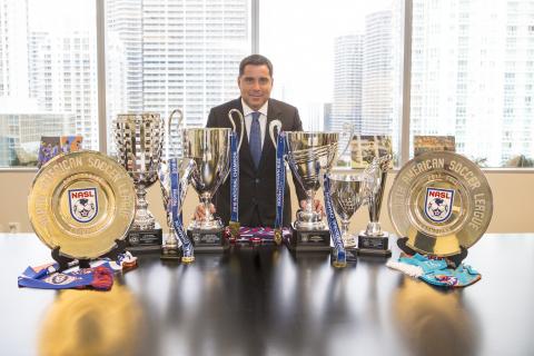 Riccardo Silva, owner of Miami FC. Photo: OrovioPhotography/Silva/LaPresse