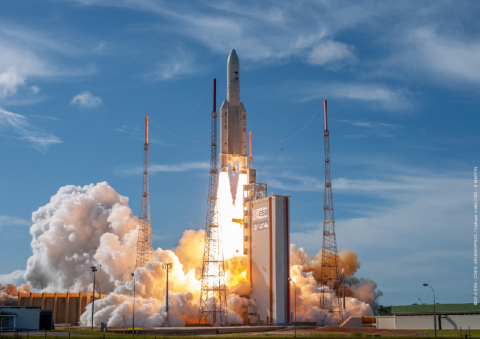 Successful launch of Intelsat 39 (Photo: Business Wire)