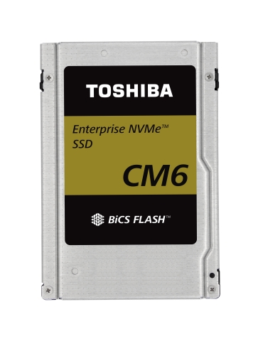 """Toshiba Memory Corporation: Industry's Fastest-class PCIe(R) 4.0 SSDs for Enterprise Applications """"CM6 Series"""" (Photo: Business Wire)"""