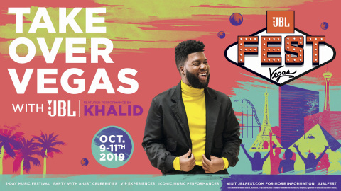 JBL Announces a Star-Studded Lineup for JBL Fest, Including Khalid, Bebe Rexha, RUN DMC and Mabel (Photo: Business Wire)