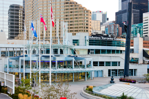 Metro Toronto Convention Centre Selects GES Canada as its Official Preferred Provider of Customs and Transportation Services. (Photo: Business Wire)