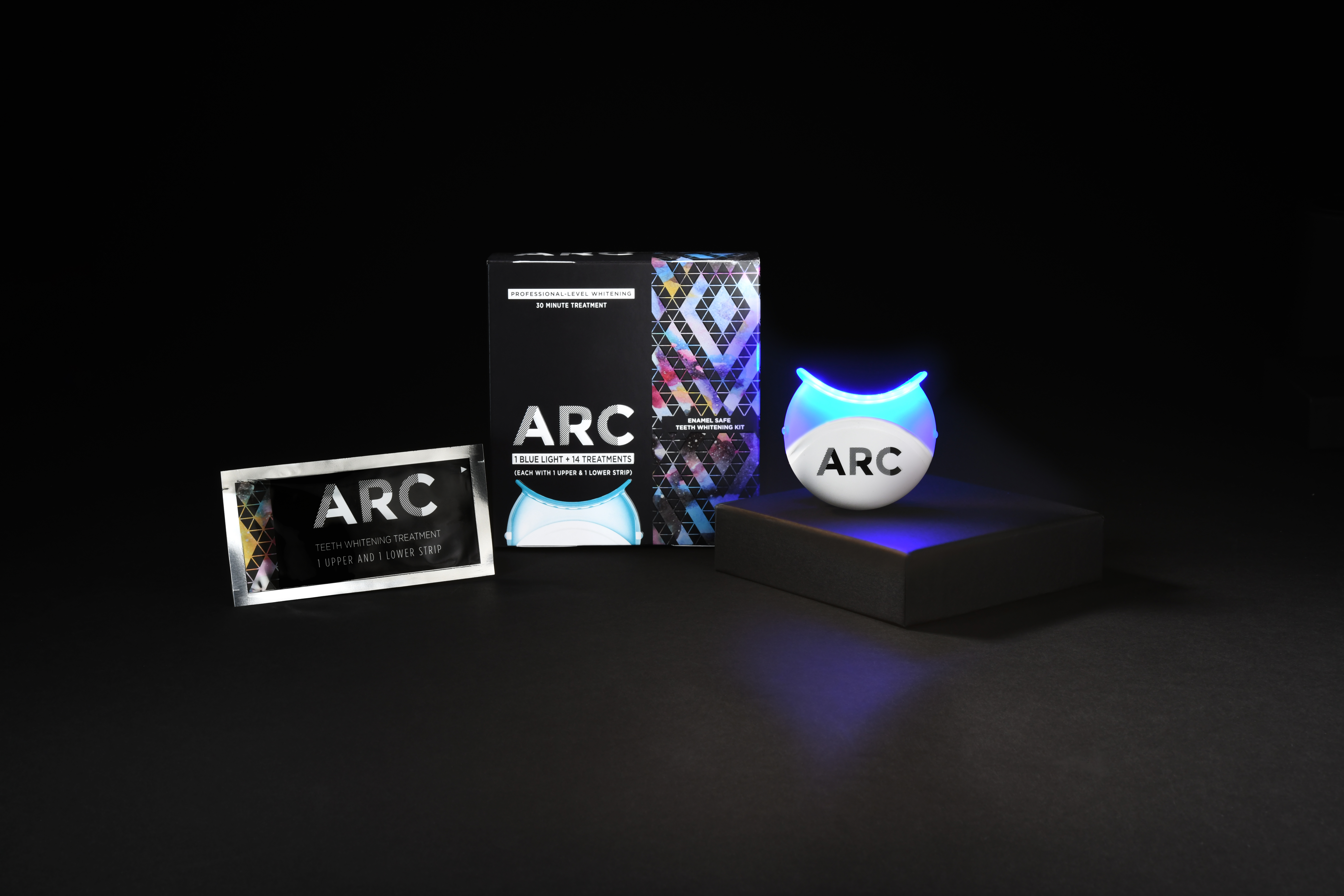 New Arc Teeth Whitening System Empowers Every Smile To Tell Its