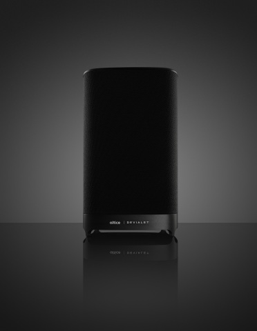 Altice Amplify, an intelligent, high-fidelity home speaker that powers the connected home. (Photo: Business Wire)