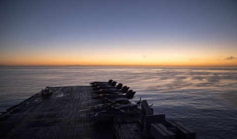 The U.S. Navy has awarded BAE Systems a prime contractor position on a new indefinite-delivery/indefinite-quantity contract to enhance maritime operations and flight safety systems aboard new construction aircraft carriers and large deck amphibious ships. (Photo: DVIDS)