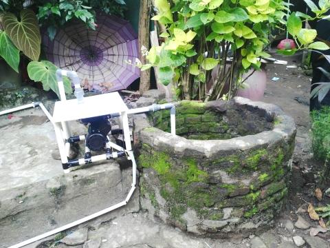 松下的自動淺井泵(照片:美國商業資訊)