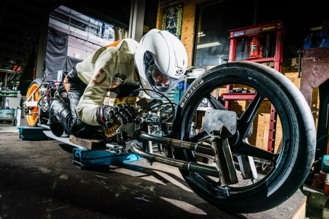 NS TOOL Challenges the World's Fastest-Speed Records in Bonneville Motorcycle Speed Trials 2019 (Photo: Business Wire)