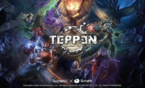 GungHo Online Entertainment, Inc. launched TEPPEN, a smartphone game jointly developed with CAPCOM CO., LTD. in Asia/Japan region for App Store and Google Play Store at their TEPPEN Asia Japan Premiere event. TEPPEN is the ultimate card battle created through a powerful tag-team collaboration between GungHo and Capcom. This battle game features an original story that unfolds with brand new, impressive illustrations for each of the TEPPEN heroes, and is a fusion of real-time gameplay that makes you feel as if you're right in the action and turn-based strategy that plays out in a quick-paced battle of the minds. These features along with TEPPEN's intuitive, easy-to-control battles result in a totally new experience for players. (Graphic: Business Wire)